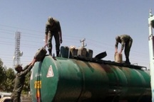 کشف 30 هزار لیتر گازوییل قاچاق در اشتهارد