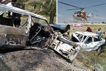 سانحه رانندگی در دشتستان 12 مصدوم برجای گذاشت