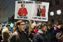 عکس/ با ترامپ به شیوه درست رفتار کن!