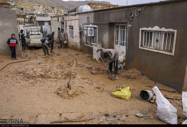 سیل نوعدوستی در کردستان جاری شد