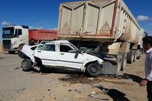 حادثه رانندگی در ندوشن میبد، یک کشته بر جا گذاشت