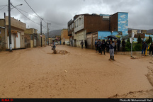 بازدید نمایندگان وزیر آموزش و پرورش از مدارس آسیبدیده حادثه سیل