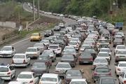 جاده هراز به سمت تهران یکطرفه می شود