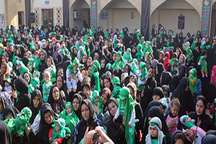 همایش شیرخوارگان حسینی در استان قزوین برگزار شد