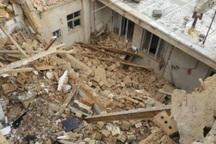 انفجار گاز در مهاباد موجب تخریب خانه مسکونی شد