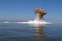 افزایش 57 سانتی متری تراز دریاچه ارومیه