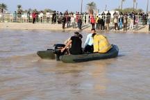 غرق شدن جوان 23 ساله در اروند رود