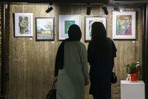 نمایشگاه نقاشی در مهاباد دایر شد