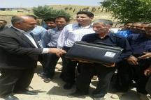 104 پنل خورشیدی تولید برق به عشایر شهرستان بدره تحویل شد