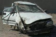 تصادف در جاده آق قلا - گنبدکاووس دو کشته برجای گذاشت