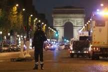 دستگیری مظنونان تیراندازی مرگبار در شانزه لیزه پاریس