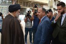 مقامات عراقی پای صندوق های رای+ تصاویر