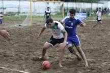 ملوان بندرگز به مرحله دوم لیگ فوتبال ساحلی امیدها راه یافت