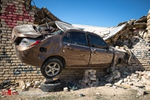 عجیب ترین تصادف در سرپلذهاب + تصاویر