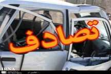 دو کشته بر اثر برخورد پراید با تیر چراغ برق در محور لاهیجان - لنگرود