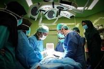 اعضای 2 بیمار مرگ مغزی اهدا شد