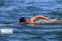 مسابقات شنای آبهای آزاد قهرمانی کشور در مریوان پایان یافت
