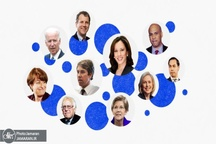 باشگاه پرتعداد کاندیداهای دموکرات برای رقابت با ترامپ
