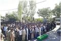 تشییع و خاکسپاری پیکر مطهر شهید مدافع حرم در شهرستان دماوند