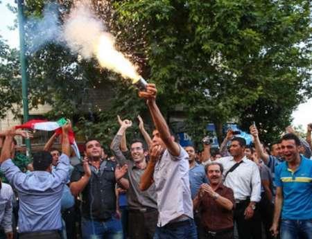 شادی مردم لرستان پس از صعود تیم ملی به جام جهانی روسیه