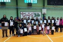 مسابقه دوستانه فوتسال بانوان در ماکو برگزار شد