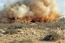 وقوع انفجار سه قبضه مین در شهرستان مرزی قصرشیرین