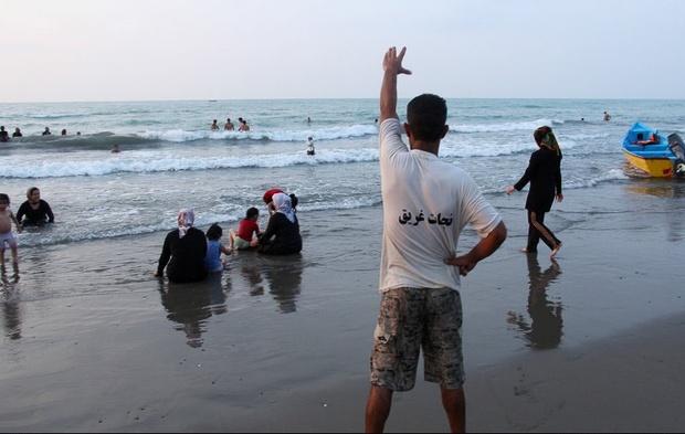 ایمن سازی شناگاههای خزر در آستانه تعطیلات عید فطر
