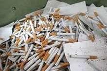 افزون بر 160 هزار نخ سیگار در جیرفت کشف شد