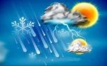 آغاز بارشها در برخی از استانهای کشور/ کاهش دما تا ۸ درجه در سواحل شمالی
