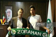 مرتضی تبریزی قرارداد خود را دو سال دیگر با ذوب آهن تمدید کرد