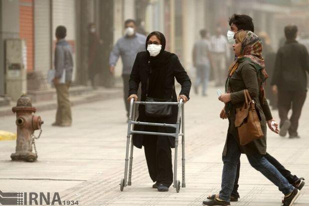 غبار محلی و افزایش نسبی آلایندهها در تهران پیشبینی میشود
