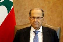 رئیسجمهور لبنان: اجازه نمیدهیم از حریم هوایی ما برای حمله به سوریه استفاده شود