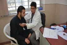 دانشجویان دانشگاه سیستان وبلوچستان خدمات سلامت دریافت می کنند