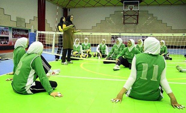 بانوی والیبال نشسته همدان مسافر رقابت های جهانی هلند شد