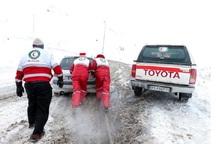 برف و کولاک، مردم خراسان شمالی را درگیر کرده است