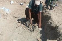 کشف یک منطقه تجاری تاریخی در تپه سیف آباد کازرون