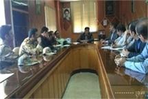 جلسه آزاد سازی حریم قلعه فلک الافلاک  خرم آباد