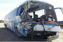 نبستن کمربند ایمنی علت افزایش مجروحان سانحه اتوبوس در گناباد