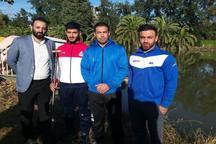 اردوی آماده سازی تیم ملی قایقرانی مردان درآمل آغاز شد
