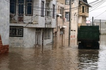 هشدار آبگرفتگی معابر در کُردستان بر اثر بارندگی باران