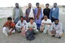 بازگشت ۱۰  صیاد ایرانی نجات یافته در آبهای پاکستان به ایران