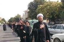 مهاباد در تاسوعای حسینی به سوگ نشست