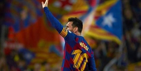 برد بارسلونا با گلزنی مسی مقابل اتلتیکومادرید