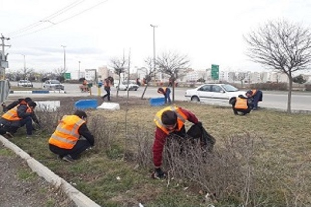 مسیرهای منتهی به شهر اردبیل پاکسازی میشود