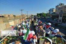 مردم شمال خوزستان یکصدا علیه استکبار