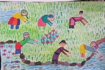 نقاشی دانش آموز کهگیلویه و بویراحمد برگزیده کشوری شد
