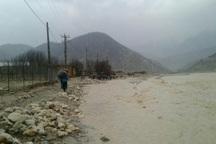 بارش ها در کوهرنگ چهارمحال و بختیاری رکورد زد