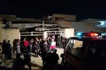 دو منزل مسکونی در اهواز بر اثر نشت گاز و انفجار تخریب شدند