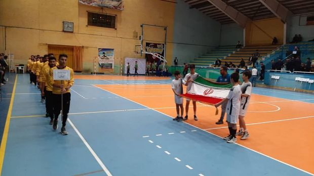 مسابقات هندبال جوانان باشگاههای کشور در قزوین آغاز شد