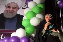 ستاد بانوان حامی روحانی در خوزستان افتتاح شد